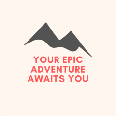 Your Epic Adventure Awaits You